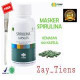 Harga Tiens Masker Spirulina 100 Kapsul Free Kuas By Zay Tiens Lengkap