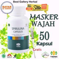 Harga Tiens Masker Spirulina 50 Kapsul Gratis Kuas Murah Bgh01 Paling Murah