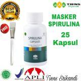 Spek Tiens Masker Spirulina Anti Jerawat 25 Kapsul Free Kuas Wajah Dan Member Card Tiens Srikandi Tiens