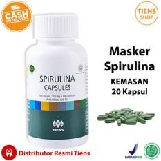 Beli Tiens Masker Spirulina Herbal Alami Tiens 20 Kapsul Promo Free Member Card Tiens Shop Lengkap