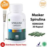 Promo Tiens Masker Spirulina Herbal Kemasan 30 Kapsul Free Kuas Free Member By Ts1 Murah