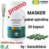 Jual Beli Tiens Masker Spirulina Herbal Paket 20 Kapsul New Promo Jawa Timur