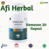 Diskon Besartiens Masker Spirulina Herbal Paket 20 Kapsul Free Member Crad Afi Herbal 2
