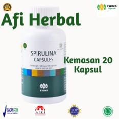 Review Tiens Masker Spirulina Herbal Paket 20 Kapsul Free Member Crad Afi Herbal 2 Tiens