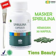 Toko Tiens Masker Spirulina Herbal Pemutih Wajah Original Tiens Beauty Paket 30 Kapsul Gratis Kuas Tiens Di Jawa Timur