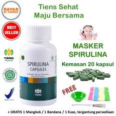 Jual Tiens Masker Spirulina Herbal Pemutih Wajah Paket 20 Kapsul Online Di Jawa Timur