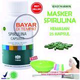 Toko Tiens Masker Spirulina Herbal Pemutih Wajah Paket 25 Kapsul Lengkap