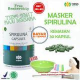 Diskon Tiens Masker Spirulina Herbal Pemutih Wajah Paket 30 Kapsul Free Kuas Akhir Tahun