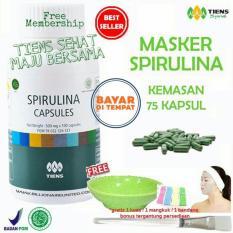 Toko Tiens Masker Spirulina Herbal Pemutih Wajah Paket 75 Kapsul Gratis Tsmb Gift Murah Jawa Timur