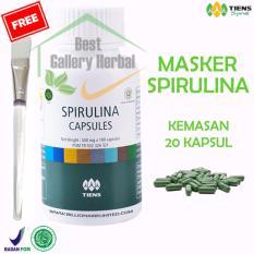 Beli Tiens Masker Wajah Spirulina Ads002 20 Kap Kuas Cantik Dengan Kartu Kredit