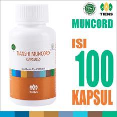 Tiens Muncord Cordyceps Capsule - Vitamin Imunitas / Daya Tahan Tubuh Tianshi Ori - 1 Botol isi 100 Kapsul