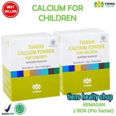 Tiens NCP for Children - Susu Kalsium Kecerdasan dan Pertumbuhan Anak (Kemasan 2 Box) Original by THS