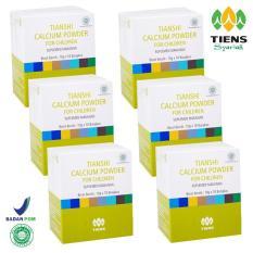 Tiens Ncp For Children - Susu Kalsium Kecerdasan Dan Pertumbuhan Anak (Kemasan 6 Box)