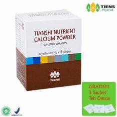 Harga Hemat Tiens Nhcp Nutrient Calcium Powder Kalsium Peninggi Badan Promo Murah Gratis Teh