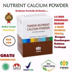 Review Toko Tiens Nhcp Nutrient Calcium Powder Terbaik 5 Sachet Kalsium Peninggi Badan Osteoporosis Jantung Sendi Rematik Pengapuran Patah Tulang Online