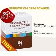 Jual Tiens Nutrient Calcium Powder 100G Tianshi Nutrient Super Calcium By Toko Nikmatiens Murah