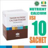 Beli Tiens Nutrient Calcium Powder Kalsium Dewasa Tianshi Ori Susu Peninggi Badan Nhcp 1 Box Isi 10 Sachet Kredit
