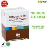 Harga Tiens Nutrient Calcium Powder Kalsium Untuk Tulang Patah Retak Dan Osteoporosis Promo Paket 5 Saset Ts2 Terbaik