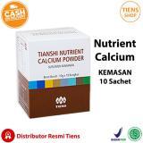 Harga Tiens Nutrient Calcium Powder Kalsium Untuk Tulang Patah Retak Osteoporosis Dan Peninggi Badan Asli Tiens