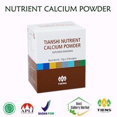Beli Tiens Nutrient Calcium Powder Kalsium Untuk Tulang Patah Retak Osteoporosis Dan Peninggi Badan Cicil