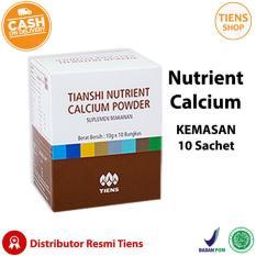 Beli Tiens Nutrient Calcium Powder Kalsium Untuk Tulang Patah Retak Osteoporosis Dan Peninggi Badan Best Seller Seken