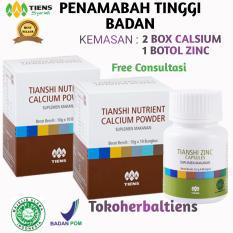 Spesifikasi Tiens Nutrient Calcium Powder Kalsium Untuk Tulang Patah Retak Osteoporosis Harga Promo Tokoherbaltiens Tiens Terbaru