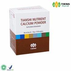 Jual Tiens Nutrient Calcium Powder Kalsium Untuk Tulang Patah Retak Osteoporosis Dan Peninggi Badan Import
