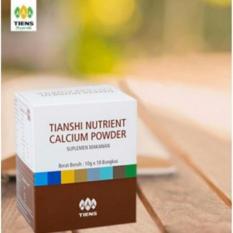 Beli Tiens Nutrient Calcium Powder Kalsium Untuk Tulang Patah Retak Osteoporosis Dan Peninggi Badan Terbaru