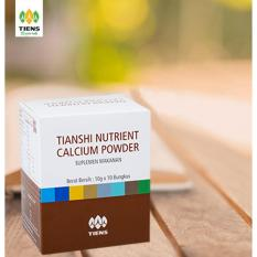 Harga Tiens Nutrient Calcium Powder Kalsium Untuk Tulang Patah Retak Osteoporosis Dan Peninggi Badan Dan Spesifikasinya