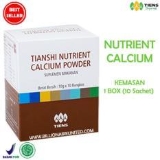 Harga Tiens Nutrient Calcium Powder Kalsium Untuk Tulang Patah Retak Osteoporosis Dan Peninggi Badan Best Seller