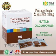 Spesifikasi Tiens Nutrient Calcium Powder Nutrisi Tulang Dan Sendi Peninggi Badan Alami By Tiens Ginko Tiens