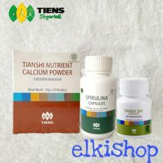 Tiens Nutrient High Calcium Powder Spirulina Dan Zinc Paket Peninggi Badan Tercepat Di Dunia Free Membership Jawa Timur Diskon 50