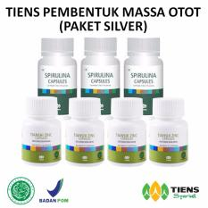 Jual Tiens Nutrisi Fitness Pembentuk Massa Otot Herbal Paket Silver Antik