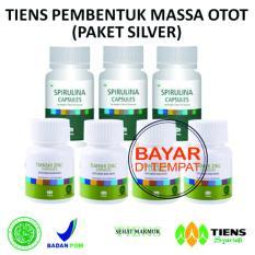 Toko Tiens Nutrisi Fitness Pembentuk Massa Otot Herbal Paket Silver Tiens