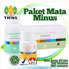 Review Pada Tiens Nutrisi Mata Minus Herbal Alami Jiang Zhi Tea Renuves Vitaline