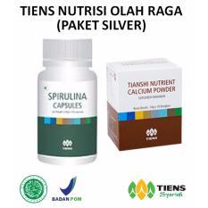 Promo Tiens Nutrisi Olah Raga Paket Promo 1 Spirulina 1 Calcium Free Membercard Th Jawa Timur