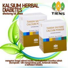 Jual Tiens Obat Diabetes Herbal Shutang Kalsium Diabetes Penjaga Kadar Gula Dalam Darah By Silfa Shop Tiens Ori