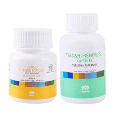 Tiens Paket Obat Herbal Mata Minus 1 Renuves 1 Vitaline Tiens Diskon