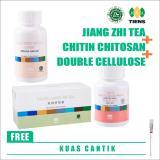 Beli Tiens Paket Pelangsing Premium Free Kuas Masker Jiang Zhi Tea Teh Hijau Herbal Chitin Chitosan Double Cellulose Dc Herbal Tianshi Pake Kartu Kredit
