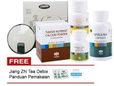 Harga Tiens Paket Pembesar Payudara Super Komplit Apparatus Zinc Kalsium Spirulina Vitaline Gratis Panduan Dan Teh Detox Origin