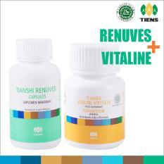 Beli Tiens Paket Pemutih Badan Basic Vitaline Renuves Tianshi Ori Herbal Whitening Skin Pencerah Kulit Mata Minus Tiens Online