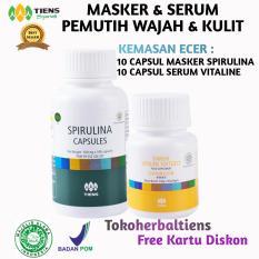 Toko Jual Tiens Paket Pemutih Badan Dan Wajah Tiens Masker Spirulina 10 Kapsul Tiens Vitaline Vitamin E 10 Kapsul