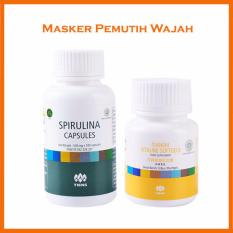 Beli Tiens Paket Pemutih Badan Dan Wajah Tiens Masker Spirulina 10 Kapsul Tiens Vitaline Vitamin E 10 Kapsul Tiens Dengan Harga Terjangkau