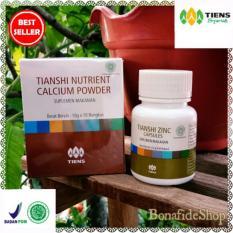 Jual Tiens Paket Peninggi Best Seller Nutrient Hight Calcium Powder Dan Zinc Terbaik Di Dunia 100 Herbal Bonafideshop Tiens