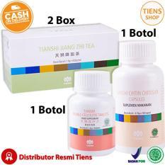 Jual Tiens Pelangsing Badan Herbal Paket Gold 2 Teh 1 Chitosan 1 Double Cellulose Free Member Card Tiens Shop Tiens