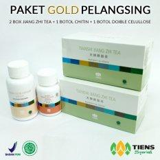 Beli Tiens Pelangsing Badan Herbal Paket Gold Online