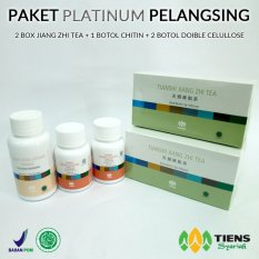 Tiens Pelangsing badan herbal Paket Platinum by TIENS HERBAL CENTER