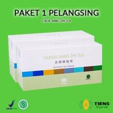 Diskon Tiens Minuman Pelanggsing Tubuh 2 Box Jiang Zhie Tea Free Kartu Diskon Tokoherbaltiens Tiens Jawa Timur