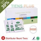 Jual Teh Diet Pelangsing Pembakar Lemak Herbal Alami Jiang Zhi Tea 1 Box 40 Sachet Promo Gratis Member Card Gift By Tiens Plus Branded Murah
