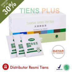 Beli Teh Diet Pelangsing Pembakar Lemak Herbal Alami Jiang Zhi Tea 1 Box 40 Sachet Promo Gratis Member Card Gift By Tiens Plus Secara Angsuran